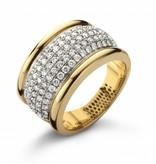 Highlights Ring Geelgoud / Witgoud / Diamanten