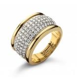 SC Jewellery Ring Geelgoud / Witgoud / Diamanten