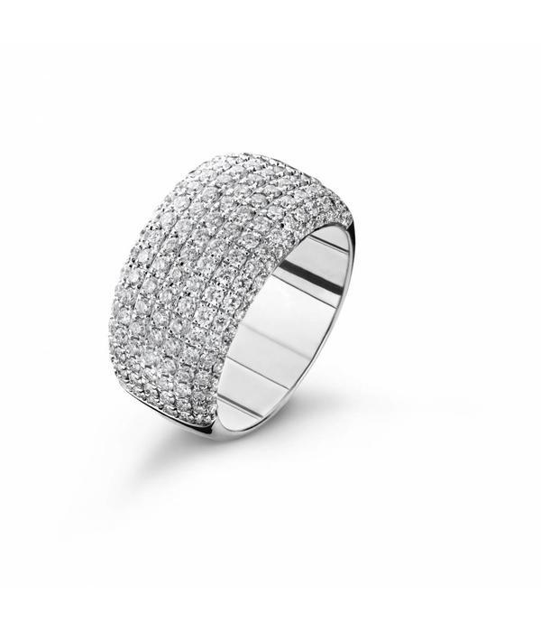 Highlights Ring Witgoud Pavé Diamanten
