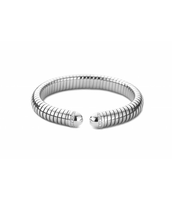 SC Highlights Armband Spang Staal/Goud met Diamant