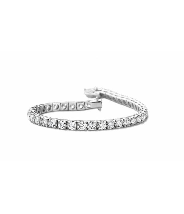 SC Highlights Armband Rivière Diamant Witgoud