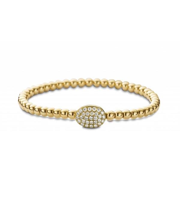 SC Highlights Bracelet Yellow Gold with Diamonds