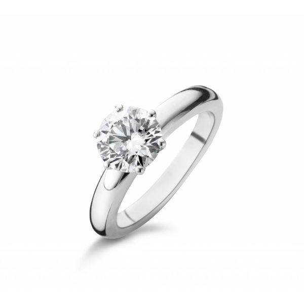 Ring Solitair 6 Prong