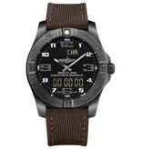 Breitling Aerospace EVO Night Mission Horloge Titanium Zwart / Nylon