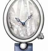 Breguet Reine de Naples Princesse Horloge Staal Parelmoer / Alligatorleder