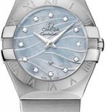 Omega Constellation Horloge Staal / Blauw