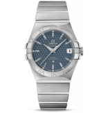 Omega Constellation 2009 Horloge Staal / Blauw