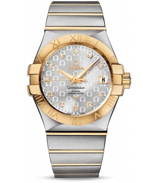 Omega Constellation 2009 Horloge Staal / Zilver / Goud