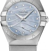 Omega Constellation 24mm Horloge Staal / Blauw