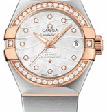 Omega Constellation Horloge Staal / Goud / Parelmoer