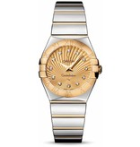 Omega Constellation 27mm Horloge Staal / Goud / Bruin