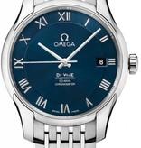 Omega Hour Vision Horloge Staal / Blauw