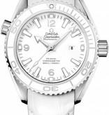 Omega Seamaster Planet Ocean 600M 37mm Horloge Staal / Wit / Leder
