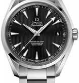 Omega Seamaster 150M Horloge Staal / Zwart