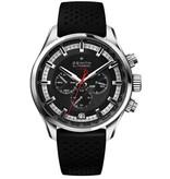 Zenith El Primero Sport Horloge Staal / Zwart / Rubber