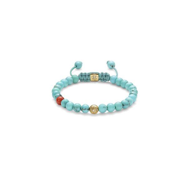 Inner Radiance Men Non-Braided Shamballa Bracelet