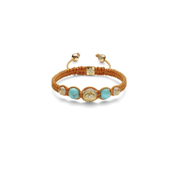 Inner Radiance Women Fully-Braided Shamballa Bracelet