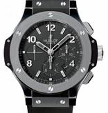 Hublot Big Bang chrono 44mm Horloge Keramiek Zwart / Rubber