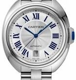 Cartier Cle de Cartier silver roman staal