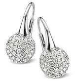 Bigli Moments 18 Carat White Gold Earring Drops with Diamond