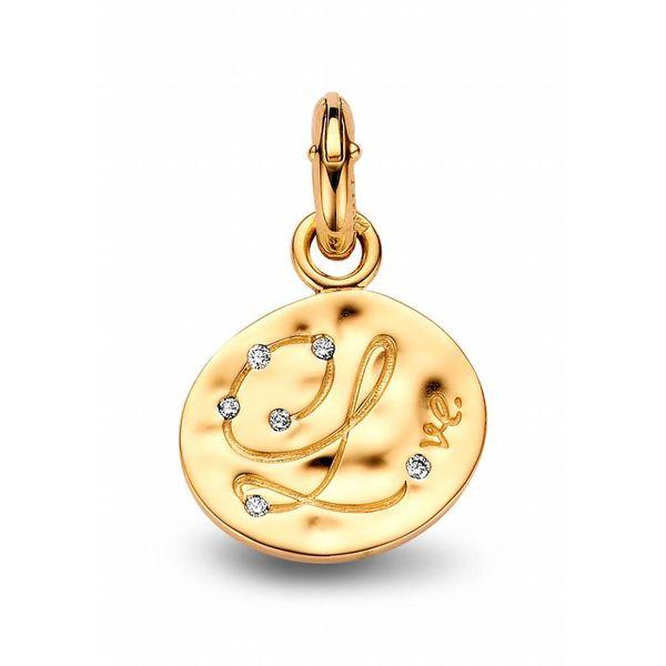 Bedel Ovaal Letter Met Diamant