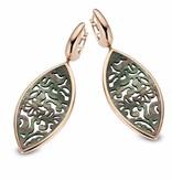 Tirisi Moda Earring Drops leaf
