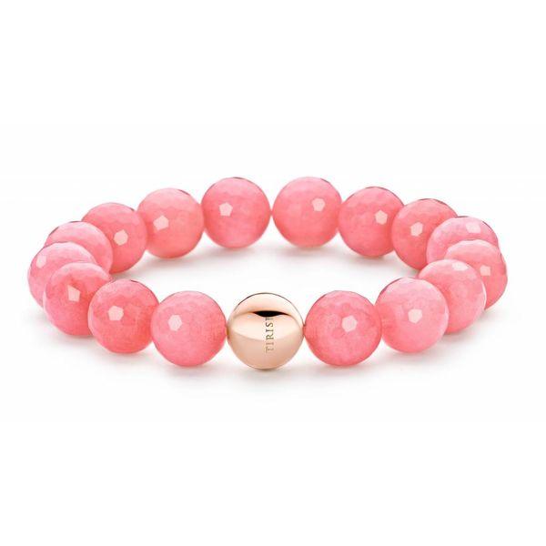 St-Tropez Bracelet Pink Jade orb