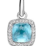 Tirisi Jewelry Pendant Milano Due Blue Topaz