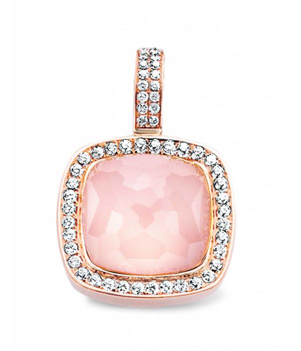 Tirisi Jewelry Pendant Milano Pink Quartz