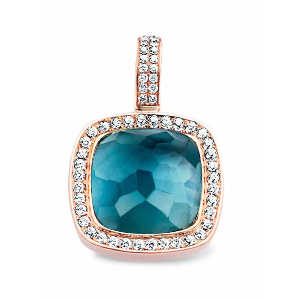 Pendant Milano Topaz/Mother of Pearl