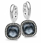 Tirisi Jewelry Earring Drops Milano Due Hematite