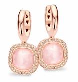 Tirisi Jewelry Earring Drops Milano Due Pink Quartz