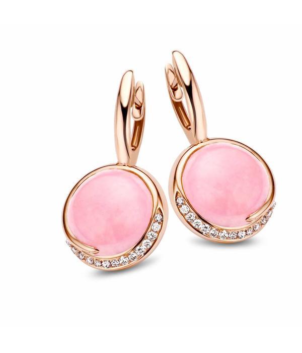 Tirisi Jewelry Earring Drops Seoul Opal Round