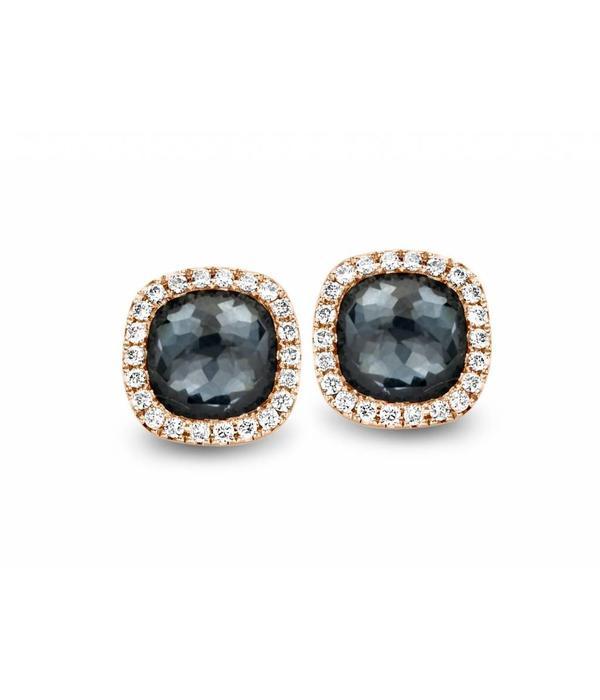 Tirisi Jewelry Earring Studs Milano Sweeties Hematite