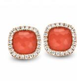 Tirisi Jewelry Earring Studs Milano Sweeties Coral