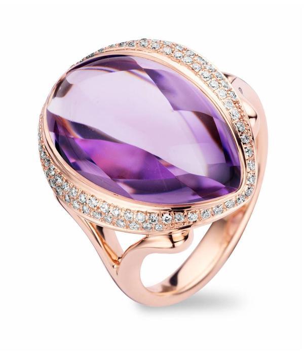 Tirisi Jewelry Ring Abu Dhabi Amethyst