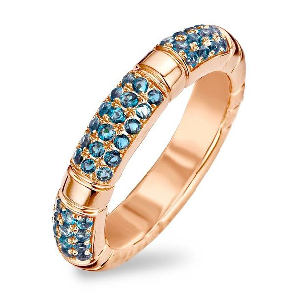 Ring Amsterdam Blue Topaz