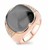 Tirisi Jewelry Ring Dubai White Quartz/Hematite