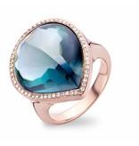 Tirisi Jewelry Ring Jaipur London Topaz