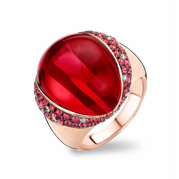 Ring Lisbon Ruby/Red Quartz