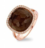 Tirisi Jewelry Ring Milano Smokey Quartz