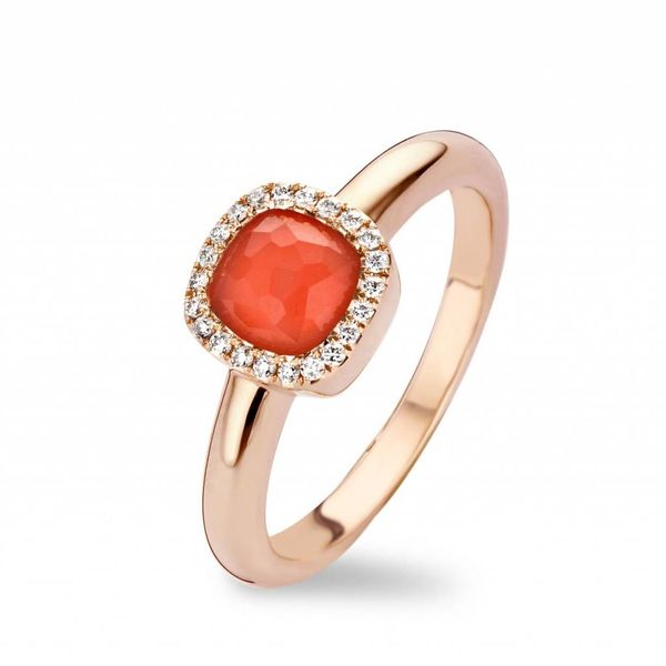 Ring Milano Sweeties Coral