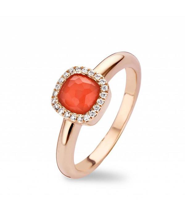 Tirisi Jewelry Ring Milano Sweeties Coral