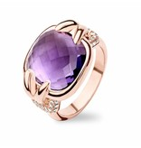 Tirisi Jewelry Ring Moscow Amethyst Mother of Pearl
