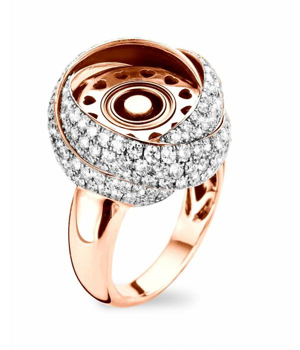 Tirisi Jewelry Ring Three Times A Lady Pave