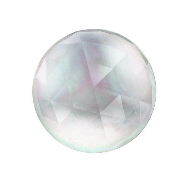 Stone Three Times A Lady White Quartz/Mother of Pearl White