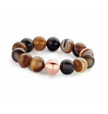 Tirisi Moda St-Tropez Bracelet Agaat orb