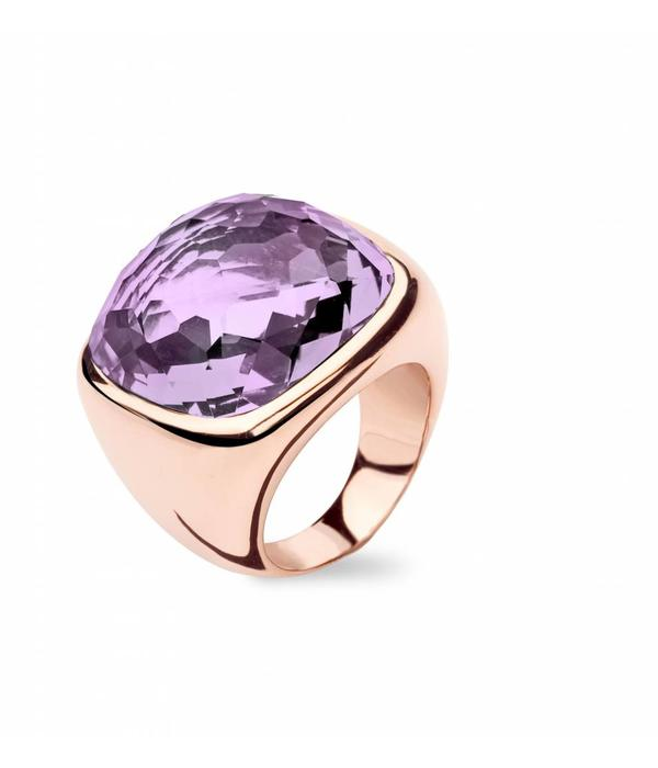 Tirisi Jewelry Ring Verona Square Amethyst