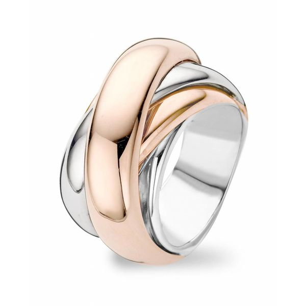 Ring Amsterdam Straps White/Rose Gold