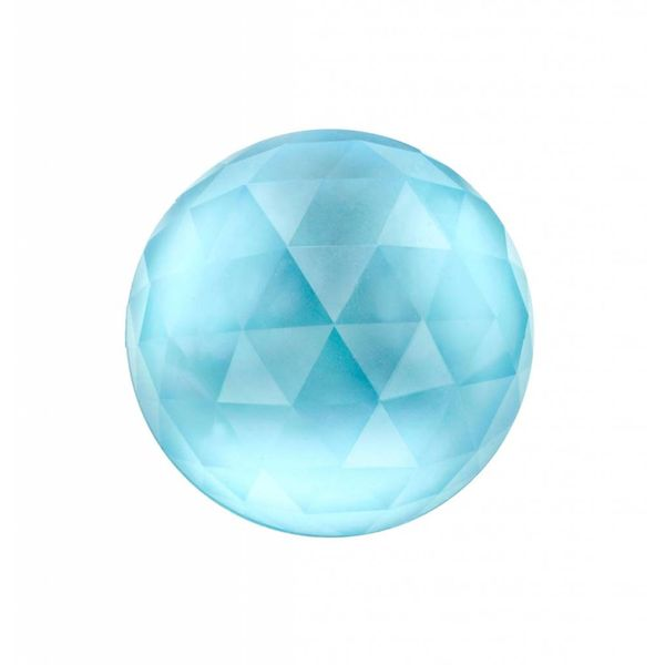 Stone Three Times A Lady Blue Topaz/Mother of Pearl